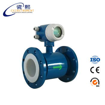 Battery Powered Electromagnetic Velocity Flow Meter