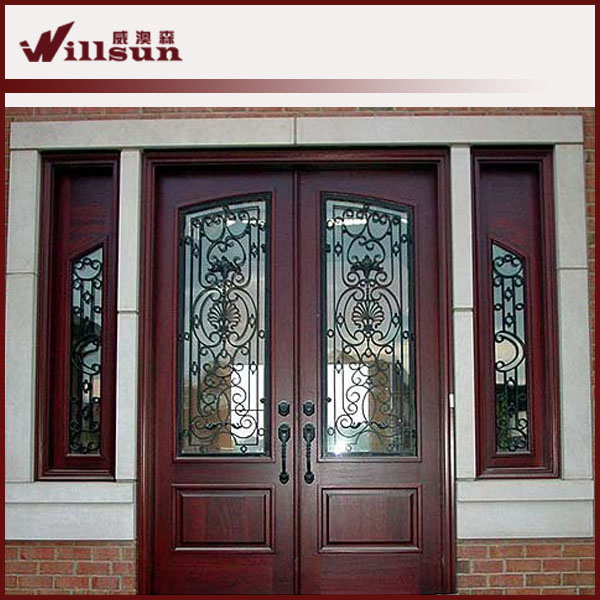 Puerta de entrada principal utilizado puertas de hierro for Puertas de entrada de fierro