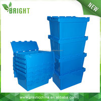 household heavy duty plastic storage box with lids