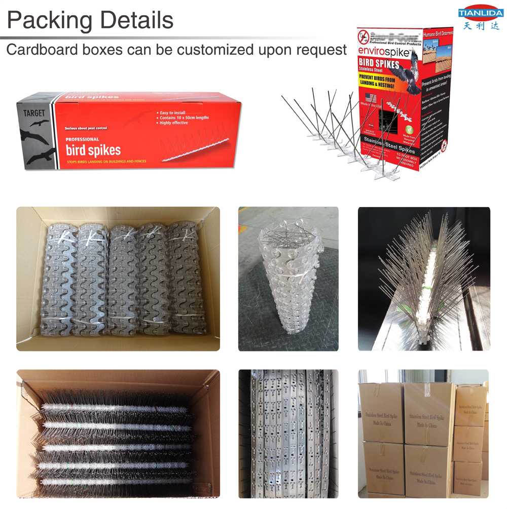 Stainless Steel Anti Pigeon Bird Spikes - China - Manufacturer -