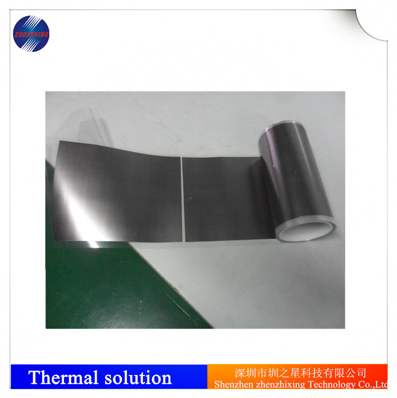 Expanded High Thermal Conductivity Synthetic graphite foil