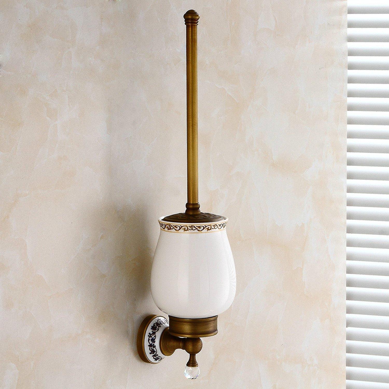 Copper antique Ceramic Crystal series toilet brush holder,European-style toilet brush holder,toilet brush,toilet brush holder,toilet brush set