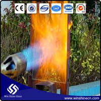 New Style Safety fire resistant glass, fire proof glass for building with low price