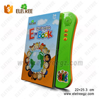 2018 Wholesale early education 3 push buttons sound book hardcover board English talking pen book for kids