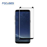 Wholesale 2017 Case friendly 3D Full Glue 9H Premium Full Coverage Tempered glass screen protector S8 plus S8+