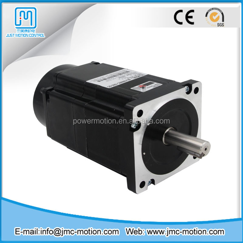Nema 34 hybrid electric stepper motor with brake