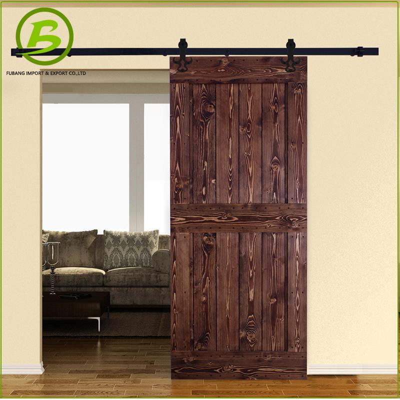 Schiebetür außen garage  Garage Holz Schiebetür Hardware Außen-Tür-Produkt ID:60512338150 ...
