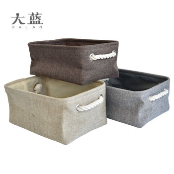 No Cover Can Be Folded Fabric Storage Box