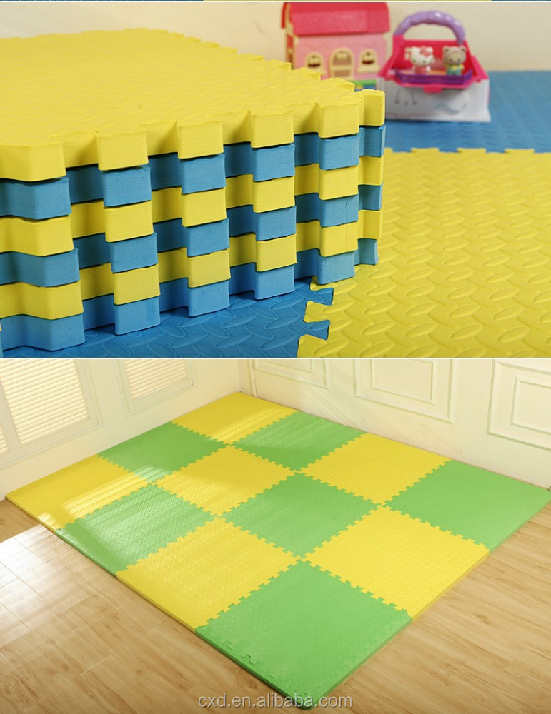HOT CHeap EVA foam interlocking tatami floor mats/ALFOMBRAS PISO GOMA EVA for home