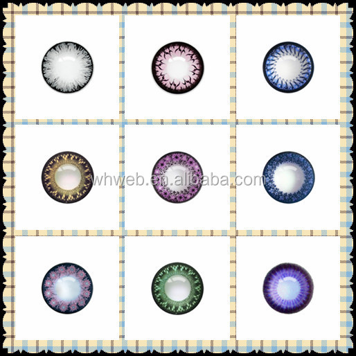 Fashion 3 Tone Color Contact Lenses Wholesale Colored Contacts ...
