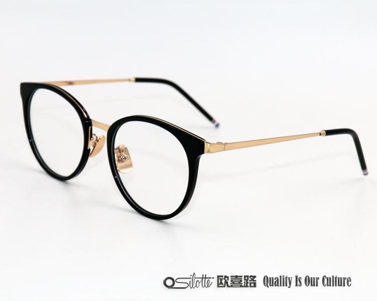 87d125711e Haut de gamme lunettes de mode bio prêt stock acétate titane lunettes  lunettes cadre optique de