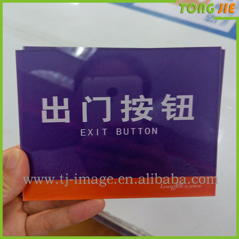 Fantastic uv printing on acrylic display board with your design