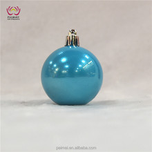 lake bule Pearl ball,lake bule Pearl Christmas ball, Pearl Plastic christmas ball