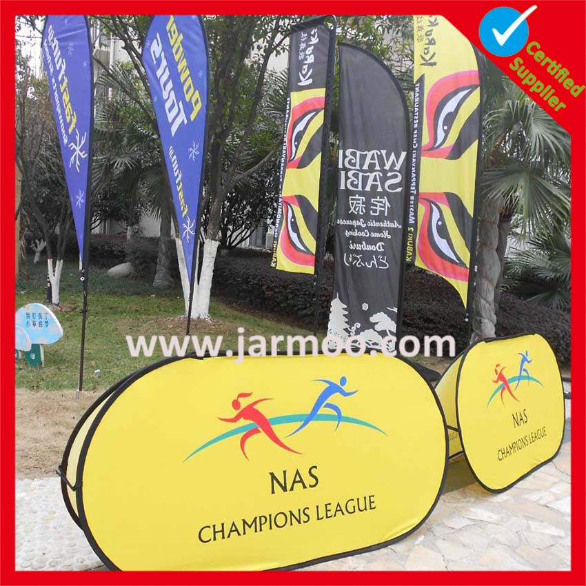 rectangle free design hot product sport garden flag