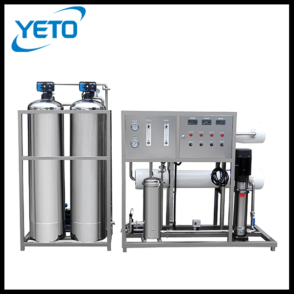 One Stage Two Tanks Industrial Reverse Osmosis Water Softening Treatment Equipment, ro membrane