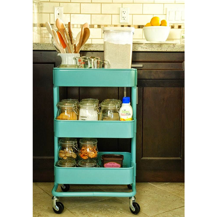 3 Tier Metal Kitchen Storage Trolley Vegetable Fruit Cart Drawer Rack  Wheels New - Buy 3 Tier Metal Kitchen Storage Trolley,Vegetable Fruit Cart  ...