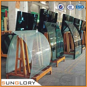 Tempered Glass Curved Glass Windows