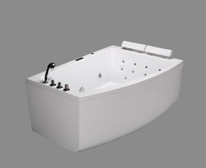 2 Person Massage Bathtub Whirlpool Spa Bath Traditional