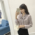 Fashion wholesale long sleeve shirt satin casual top for women blouse