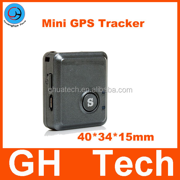 GH Tracker Mini v8 Global Real Time Quard band Global Real Time Locator GSM/GPRS Tracking With SOS Button for personal car kids