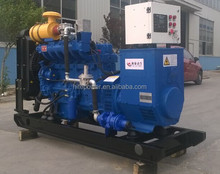 Life-Long Free Service CHP 100KVA natural gas generator for 24 hour Working
