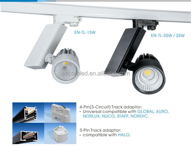40w architectural led track light 1 circuit cob led track rail art en tl 3 aloadofball Choice Image