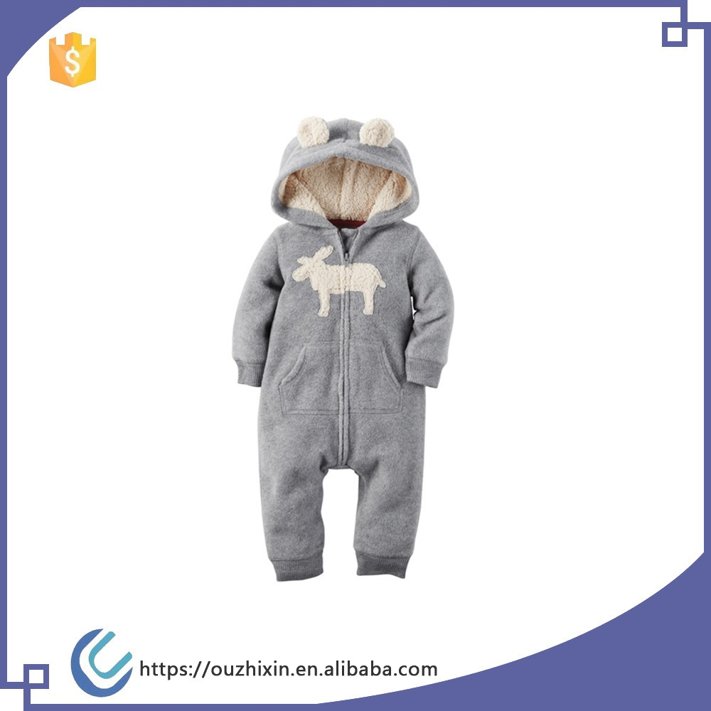 Wholesale Infant Baby Winter Romper Newborn Baby Fancy ...