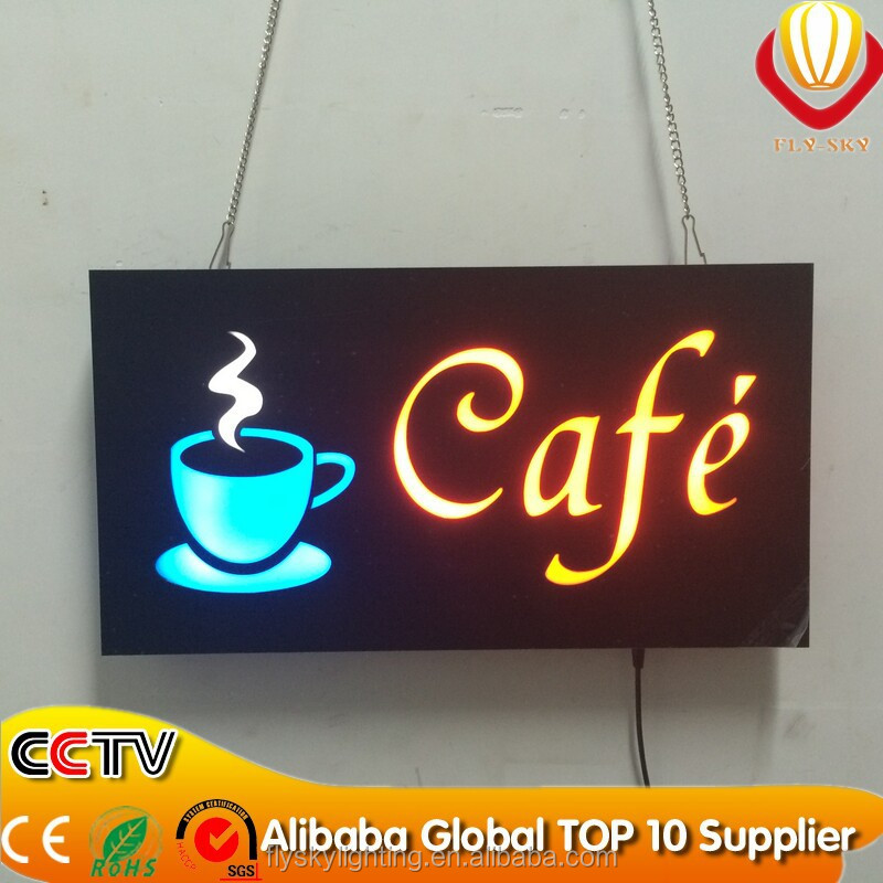 2018 New Chinese Supplier Led Open Sign Board For Shop Home