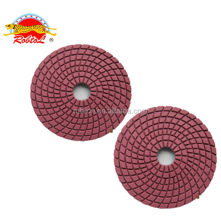 2018 Factory Flexible Diamond Floor Marble Granite Dry Polishing Pad