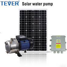 1hp 304 stainless steel self priming solar water pump system