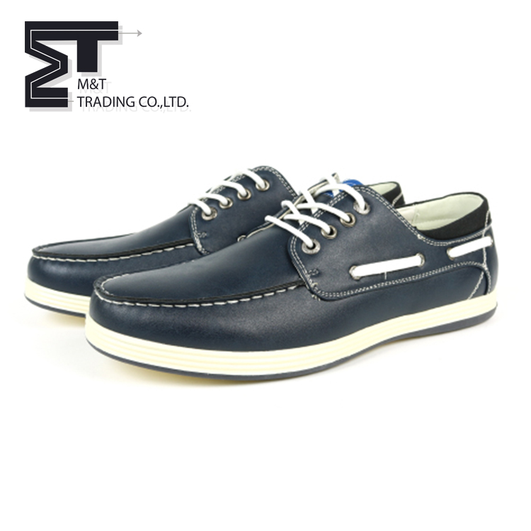 Factory directly supply high quality mens canvas boat deck casual canvas shoes