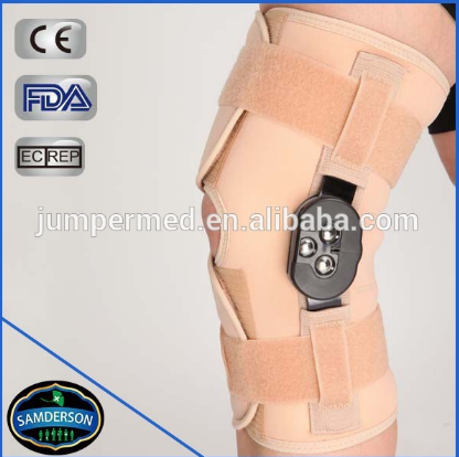 Online shopping hinged weightlifting knee sleeve/hinge knee support S,M,L,XL
