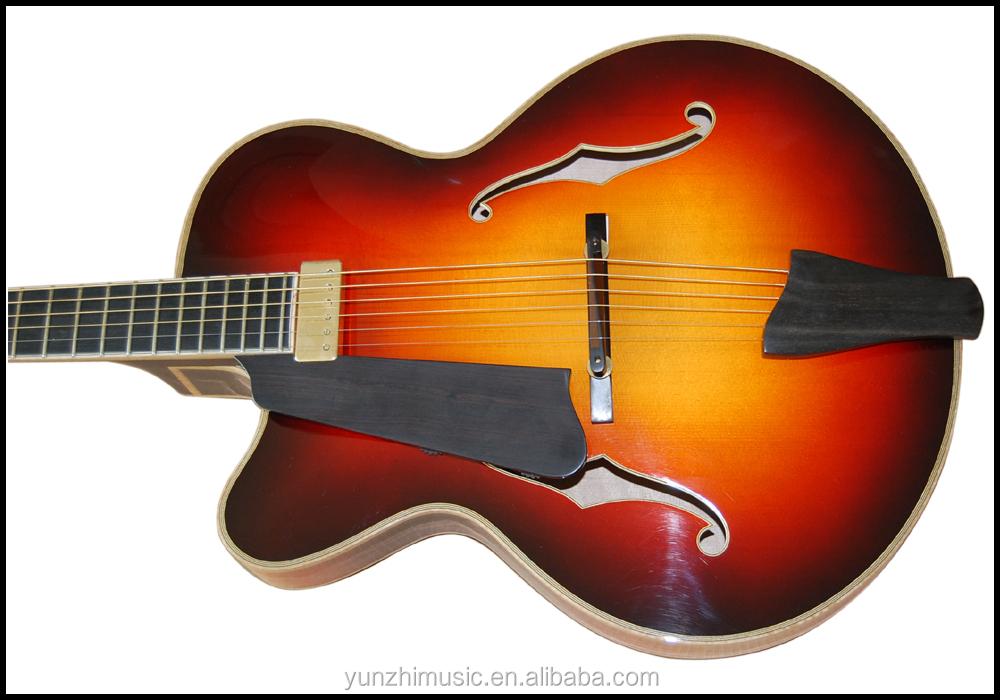 guitare gaucher archtop