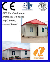 CE testing standard EPS sandwich panels to make Prefabricated Steel Home