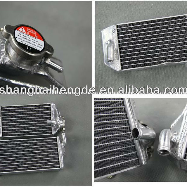 aluminum motorcycle radiators for SUZUKI RM125 125cc 2001-2008