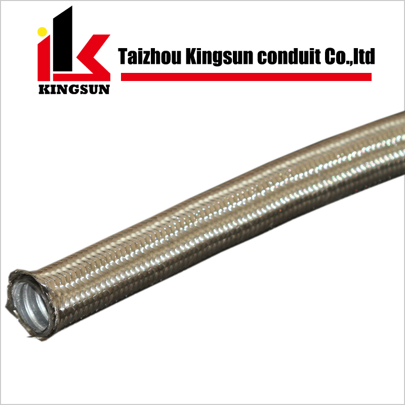 High pull-off strength Stainless Steel Braided flexible metal hose