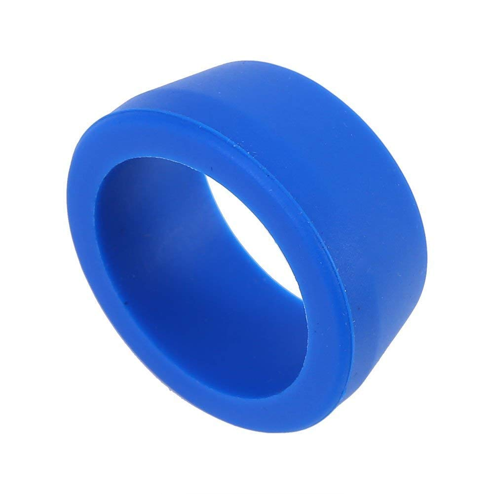 Alomejor Bike Dust Cover Ring, 2 Sizes Waterproof Silicone Mountain Road Bike Seat Post Dust-Proof Rings
