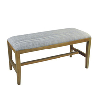 High Quality Wood Comfortable Double Seat Indoor Bench, Bench Seat