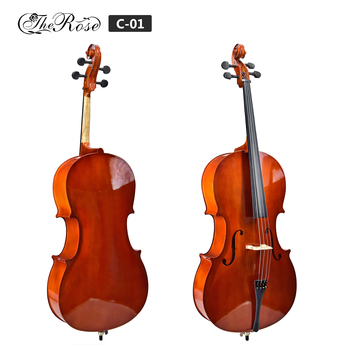 Wholesale china factory full maple wood cheap price cello for sale