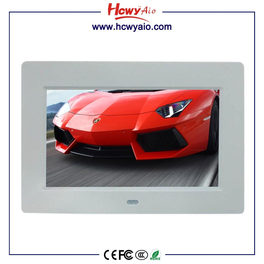 Wall Mount funny 10inch LCD Display digital photo frames 10 inch Digital Photo Frame With Motion Sensor