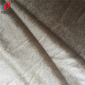 92 Polyester 8 Spandex Velboa / Korean Velvet Fabric Cloth Material For Woman Dress