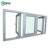 Veka Brand Australia As2047 3 Panel Triple PVC UPVC Double Glazed Casement Window