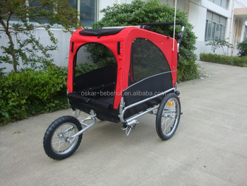 Dog Pet Cat Bike Trailer And Jogger Travel With Family Dog Bike Pet