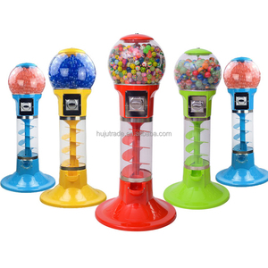Spiral Gumball Vending Machine/ Bouncy Ball Machines /Capsules vending machine