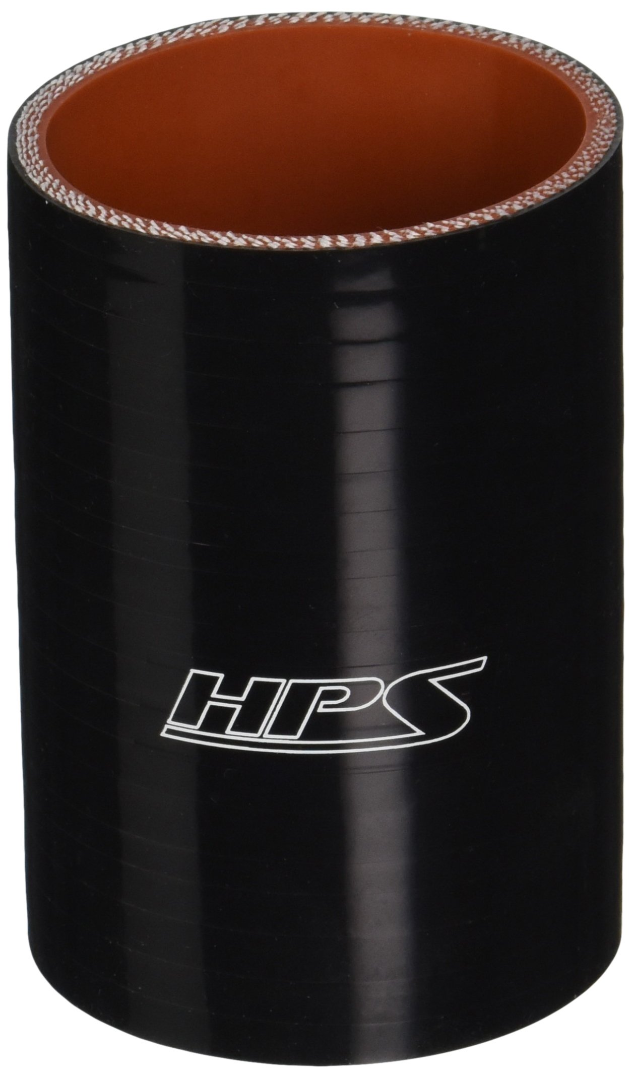 75 PSI Maximum Pressure 2-5//9 ID 3 Length Blue HPS HTSC-256-BLUE Silicone High Temperature 4-ply Reinforced Straight Coupler Hose