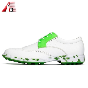 High quality OEM waterproof professional mens golf shoes