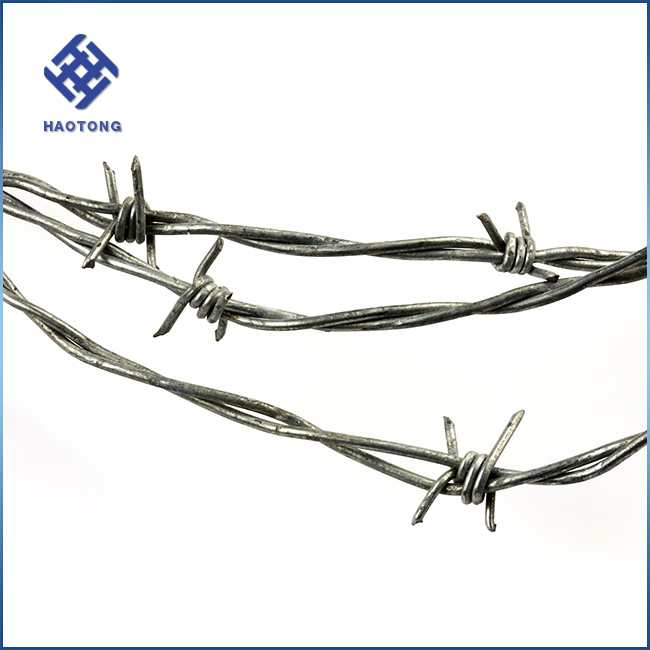 Galvanized Decorative Barbed Wire Roll Price Fence, Galvanized ...