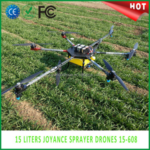 Joyance 15kg drone 15-608 Agricultural Pesticide Sprayer Drone in india  with RC and GCS