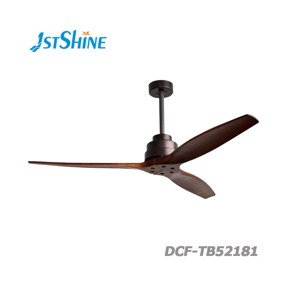 Popular fancy electric home energy saving bldc wood blade low voltage watt noise wooden ceiling <strong>fan</strong> without LED light