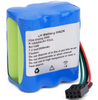 Physio Control Life Pak 250 AED battery Mindray D1/D3/D6 battery P-100AASJ/A1 OXYLOG 2000